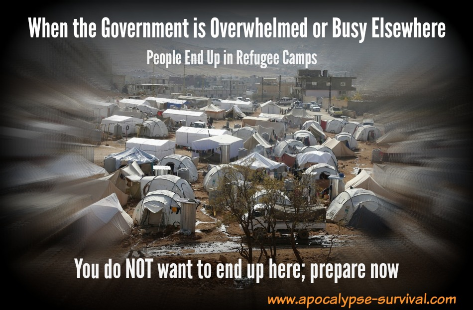GovtBusyRefugeeCamps