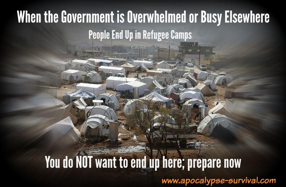 GovtBusyRefugeeCamps