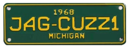 a-Jag-cuzzi-number-plate