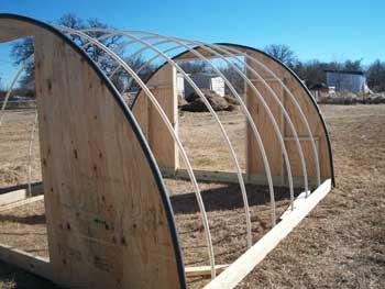pvc frame greenhouse plans
