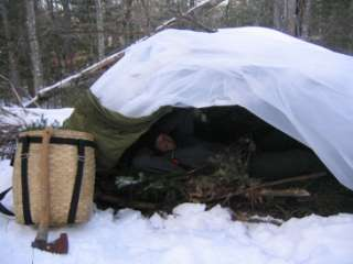 Winter Survival Shelter Snow Shelter Bush Shelter And
